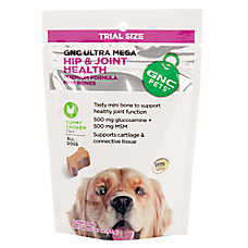 GNC Ultra Mega Hip & Joint Health Mini Dog Bone