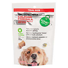GNC Ultra Mega Calming Formula Mini Dog Bone