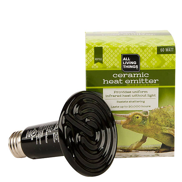 All Living Things 174 Reptile Ceramic Heat Emitter Reptile Heaters Petsmart