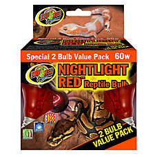 Zoo Med™ Nightlight Red Value Pack Reptile Bulb