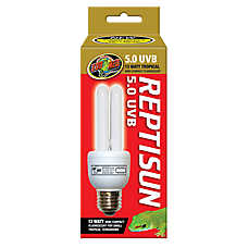 Zoo Med™ ReptiSun® 5.0 UVB Tropical Compact Fluorescent Bulb