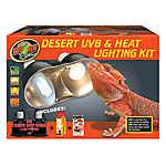 ZOO MED™ Desert UVB & Heat Lighting Kit