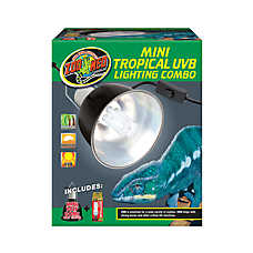 Zoo Med™ Mini Tropical UVB Lighting Combo