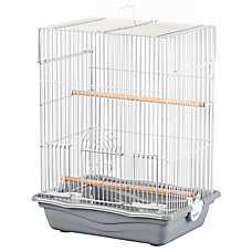 Grreat Choice® Rectangular Top Bird Cage