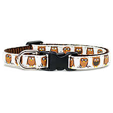 "Sweet Pickles ""The Big Hoot"" Breakaway Cat Collar"