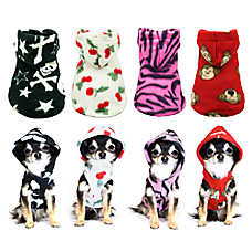 Hip Doggie Tiger Polar Fleece Hoodie