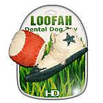 Hip Doggie Athletic Loofah Dental Set Dog Toy