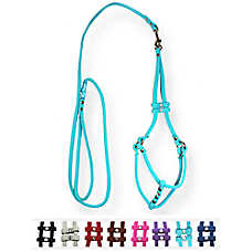Hip Doggie Micro-Suede Step-In Dog Harness and Leash
