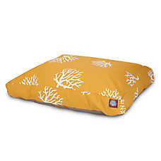Majestic Pet Coral Rectangle Pet Bed
