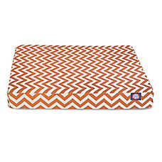 Majestic Pet Zig Zag Rectangle Pet Bed