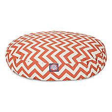 Majestic Pet Zig Zag Round Pet Bed
