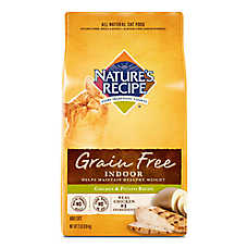 Nature's Recipe® Indoor Adult Cat Food - Grain Free, Natural