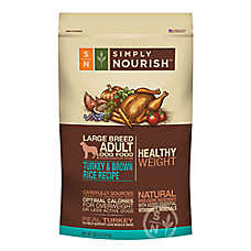 Simply Nourish® Healthy Weight Large Breed Adult Dog Food - Natural, Turkey & Brown Rice