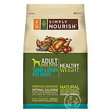 Simply Nourish® Healthy Weight Adult Dog Food - Natural, Turkey & Brown Rice