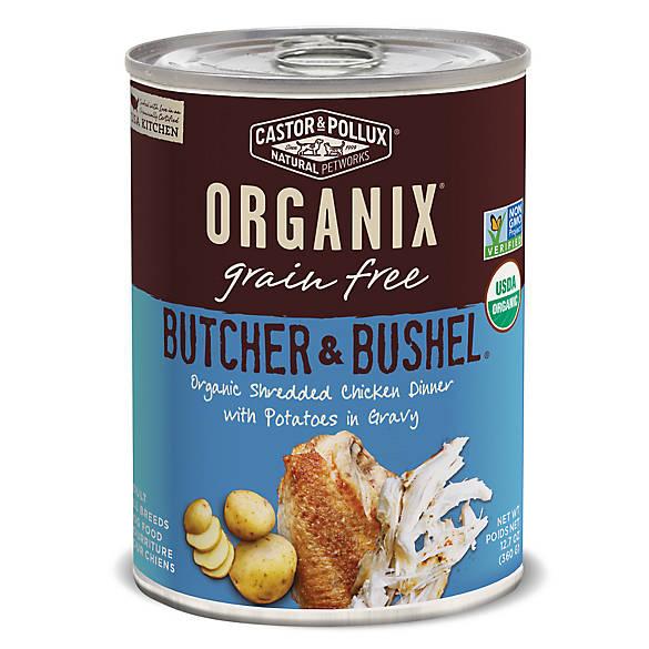 Organix Canned Dog Food