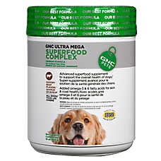 GNC Pets® Ultra Mega Superfood Complex Dog Supplement