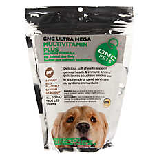 GNC Ultra Mega Dog Multivitamin Plus