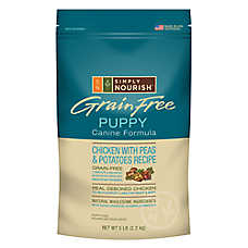 Simply Nourish™ Grain Free Puppy Food - Natural, Chicken with Peas & Potatoes