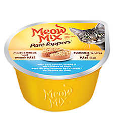 Meow Mix® Pate Toppers Cat Food