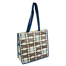 PetSmart Plaid Bone Recycled Pet Bag