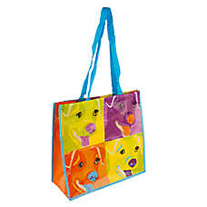 PetSmart Dog Pop Art Recycled Pet Bag