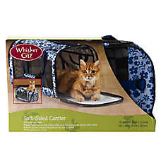 Whisker City® Floral Soft Sided Carrier