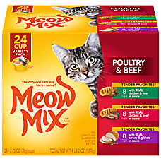 Meow Mix® Tender Favorites Variety Pack Cat Food