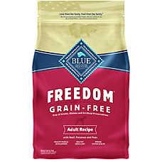 BLUE Freedom® Grain Free Adult Dog Food - Beef