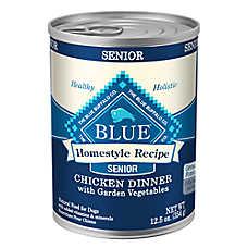 BLUE Homestyle Recipe® Chicken & Vegetable Senior Dog Food