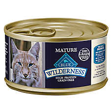 BLUE Wilderness® Grain Free Chicken Mature Senior Cat Food