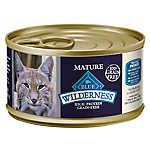 BLUE Wilderness® Grain Free Chicken Mature Senior Cat Food