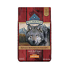 BLUE Wilderness® Rocky Mountain Recipe™ Large Breed Dog Food - Grain Free, Red Meat