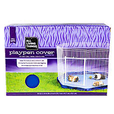 All Living Things® Small Animal Playpen Cover (COLOR VARIES)