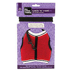 All Living Things® Walk 'n' Vest Small Animal Leash (Color Varies)