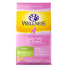Wellness® Complete Health Natural Toy Breed Adult Dog Food - Natural, Chicken, Brown Rice & Peas
