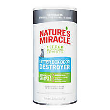 NATURE'S MIRACLE™ Litter Box Odor Destroyer Powder