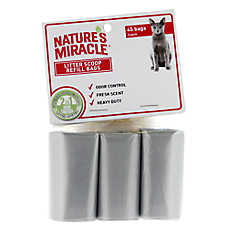 NATURE'S MIRACLE™ Litter Scoop Refill Bag