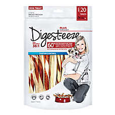 Digest-eeze Rawhide Twists Dog Treat
