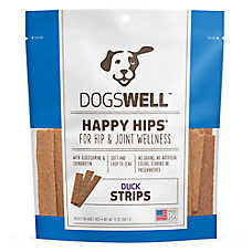 DOGSWELL® HAPPY HIPS® Dog Treat - Grain Free, Hip & Joint Health