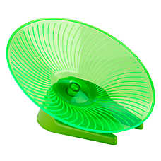 All Living Things® Flying Saucer Small Animal Wheel (COLOR VARIES)