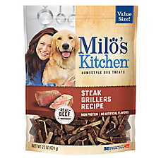 Milo's Kitchen Dog Treat - Steak Grillers