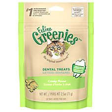Feline GREENIES® Dental Cat Treat - Catnip