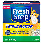 Fresh Step® Triple Action Cat Litter
