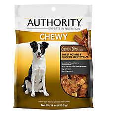 Authority® Chewy Wrap Dog Treat