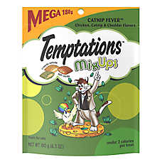 Tempations™ Mix Ups Catnip Fever Cat Treat - Chicken, Catnip & Cheddar