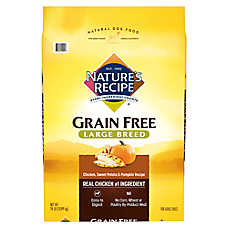 Nature's Recipe® Grain Free Large Breed Adult Dog Food