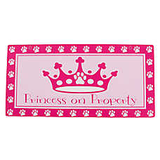 "Hillman ""Princess on Property"" Sign"