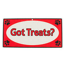 "Hillman ""Got Treats?"" Sign"