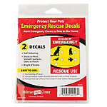 Hillman Emergency Rescue Decal