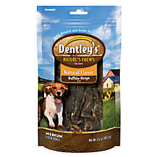 Dentley's™ Nature's Chew Buffalo Strip Dog Treat